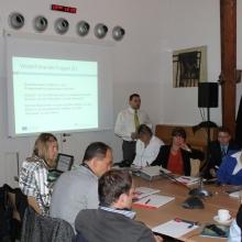 2. Steering Commitee Sitzung