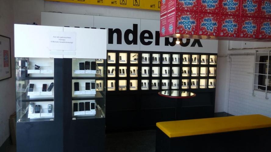 Mobiltelefon Verkaufsfläche