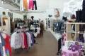 Verkaufsfläche Kleidung